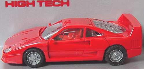 Foto 1:87 Ferrari F40 rot herpa 2510