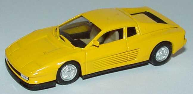 Foto 1:87 Ferrari Testarossa gelb (Fremdlackierung) herpa