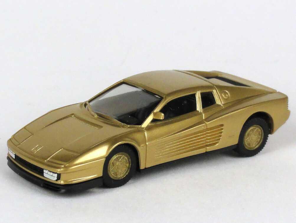 Foto 1:87 Ferrari Testarossa gold-met., Felgen gold herpa 166096/86