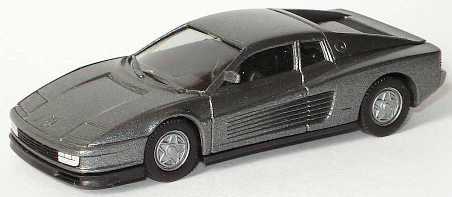 Foto 1:87 Ferrari Testarossa grau-met. (Vollmer Exclusiv) herpa