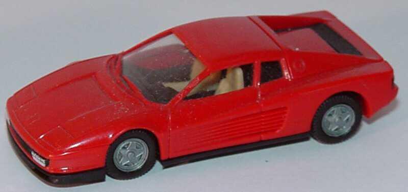 Foto 1:87 Ferrari Testarossa rot (Bastelware) herpa 2500