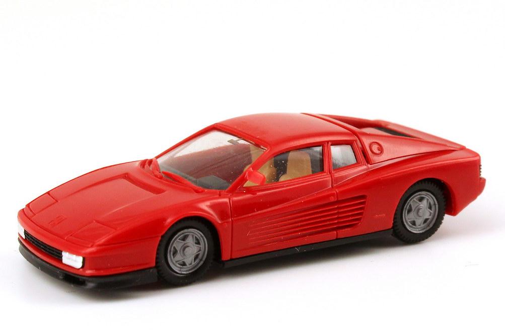Foto 1:87 Ferrari Testarossa rot herpa 2500