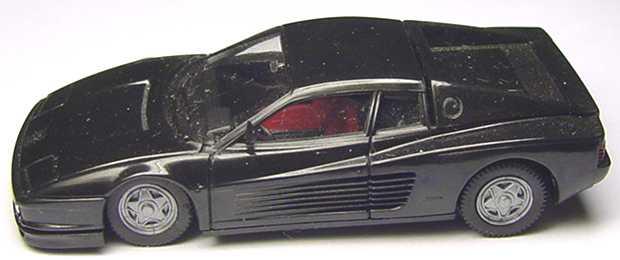 Foto 1:87 Ferrari Testarossa schwarz herpa 2502/183017