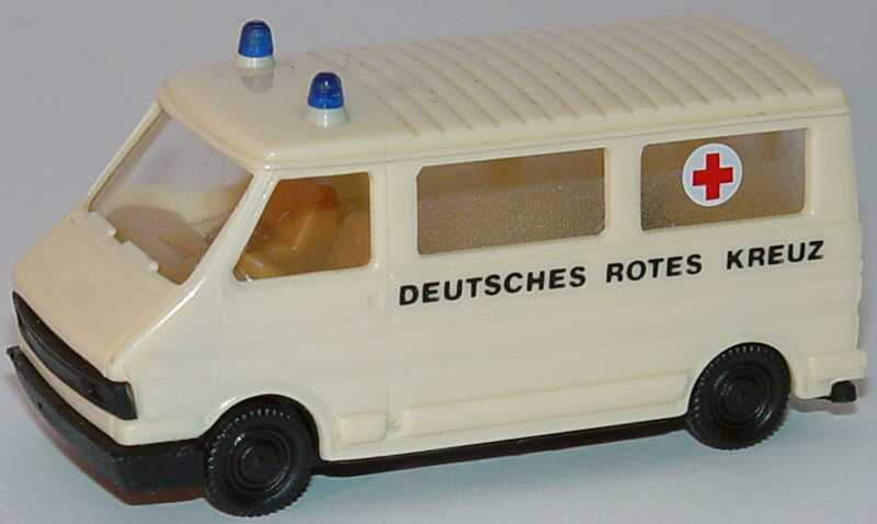 Foto 1:87 Fiat 242 Bus Deutsches Rotes Kreuz DRK - Praliné