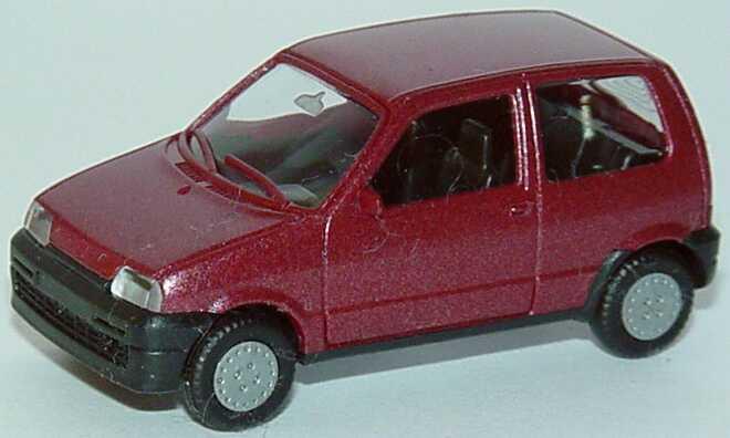 Foto 1:87 Fiat Cinquecento weinrot-met. herpa