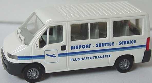 Foto 1:87 Fiat Ducato Bus Airport-Shuttle-Service Busch 47399