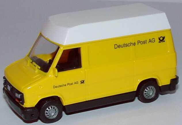 Foto 1:87 Fiat Ducato I Kasten Hochdach Deutsche Post AG Busch 43249