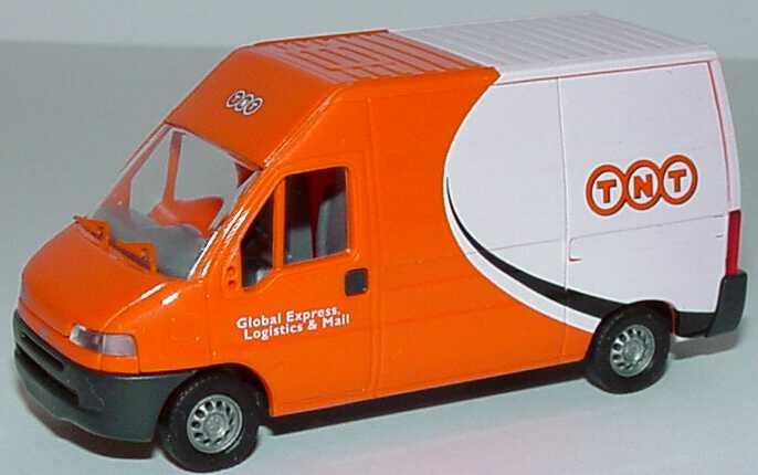 Foto 1:87 Fiat Ducato Kasten Hochdach TNT - Global Express, Logistics & Mail Busch 47324