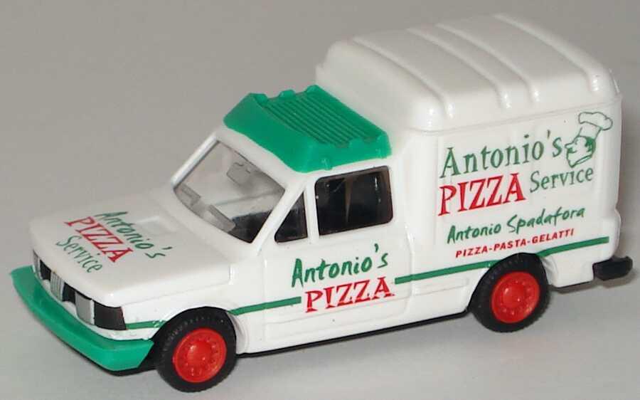 Foto 1:87 Fiat Fiorino Antonio´s Pizza Service Busch 40101