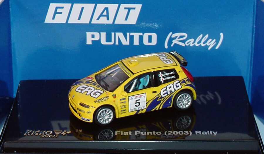 Foto 1:87 Fiat Punto Abarth Super 1600 Evo 2003 Rally ERG Nr.5,  Andreucci/Andreussi Ricko 38828