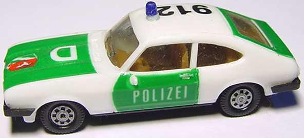 Foto 1:87 Ford Capri Mk III 3.0 Ghia Polizei 912 D (mit Wappen) herpa