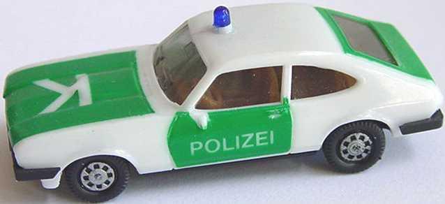 Foto 1:87 Ford Capri Mk III 3.0 Ghia Polizei K herpa