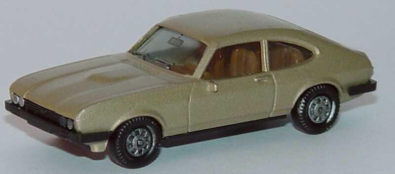 Foto 1:87 Ford Capri Mk III 3.0 Ghia sandbeige-met. herpa 3005