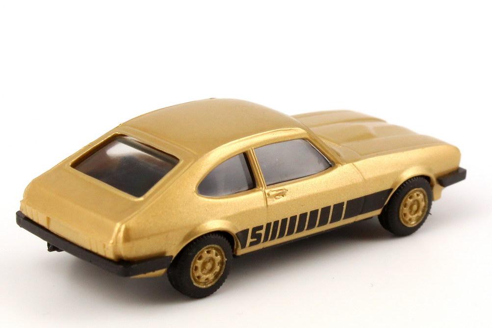 Foto 1:87 Ford Capri Mk III 3.0 S gold-met., Felgen gold herpa 166096/82