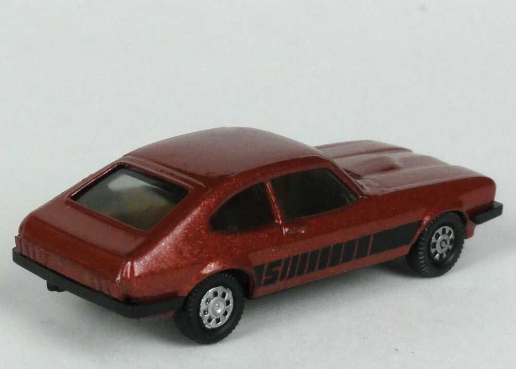 Foto 1:87 Ford Capri Mk III 3.0 S rotmet., bedruckte Scheinwerfer herpa