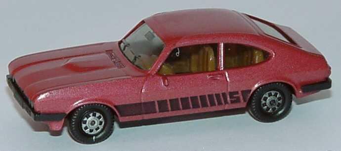 Foto 1:87 Ford Capri Mk III 3.0 S rot-met. herpa