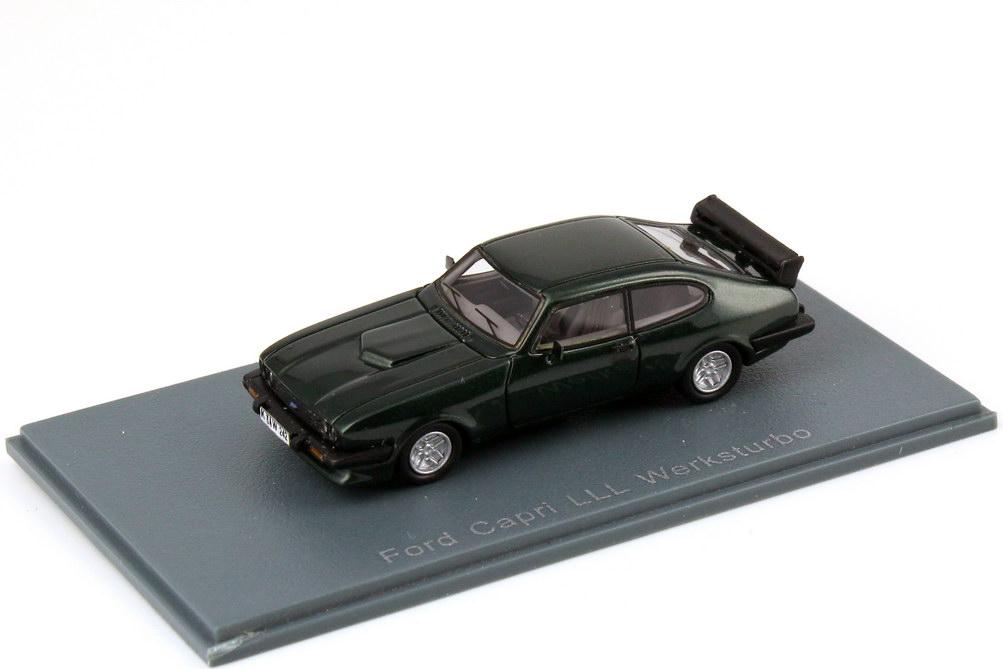 Foto 1:87 Ford Capri Mk III Werksturbo racing-green-met. NEO Scale Models 87242