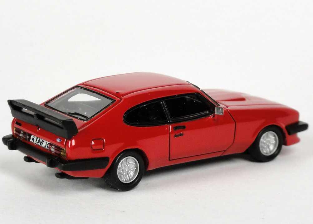 Foto 1:87 Ford Capri Mk III Werksturbo rot NEO Scale Models 87240