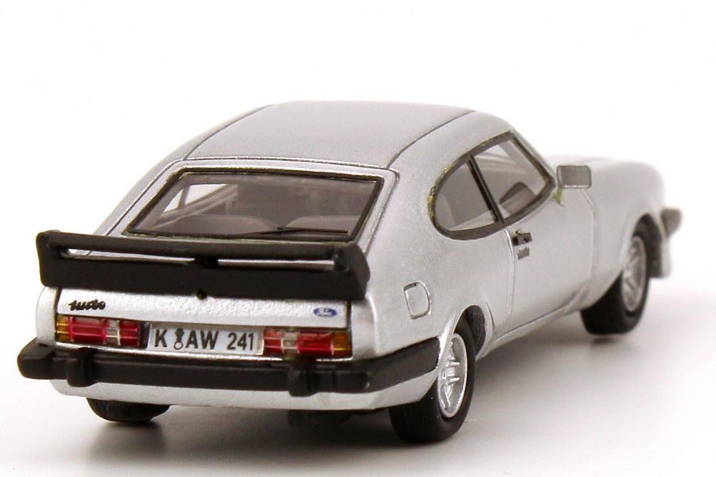 Foto 1:87 Ford Capri Mk III Werksturbo silber-met. NEO Scale Models 87241