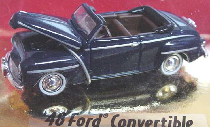 Foto 1:87 Ford Convertible (1948) dunkelblau Classic Metal Works 30102