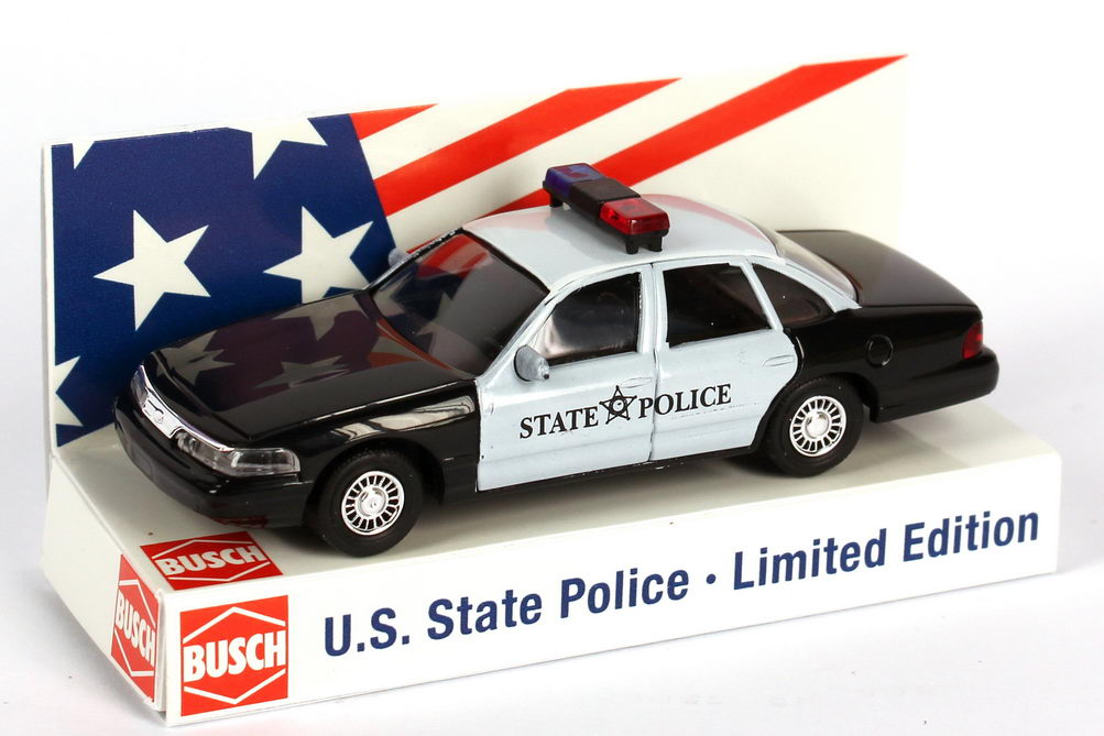 Foto 1:87 Ford Crown Victoria 1996 State Police Oregon Busch 49072