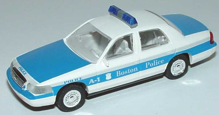 Foto 1:87 Ford Crown Victoria 1999 Boston Police Cop Car Collection