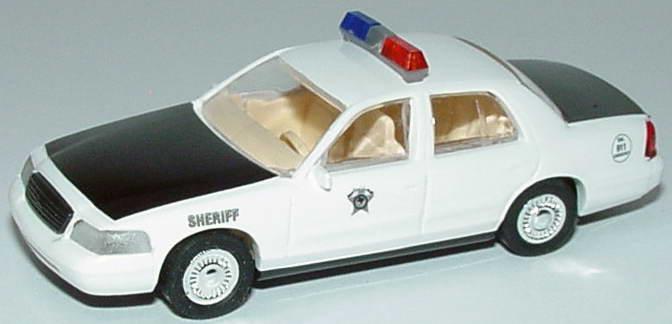 Foto 1:87 Ford Crown Victoria 1999 Dallas Sheriff Cop Car Collection