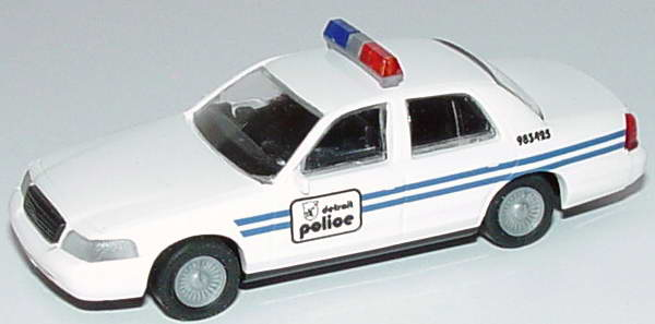 Foto 1:87 Ford Crown Victoria 1999 Detroit Police, 983425 Cop Car Collection