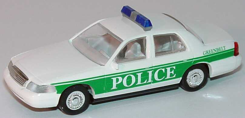 Foto 1:87 Ford Crown Victoria 1999 Greenbelt Police, 474-5454 Cop Car Collection