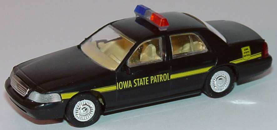 Foto 1:87 Ford Crown Victoria 1999 Iowa State Patrol Cop Car Collection