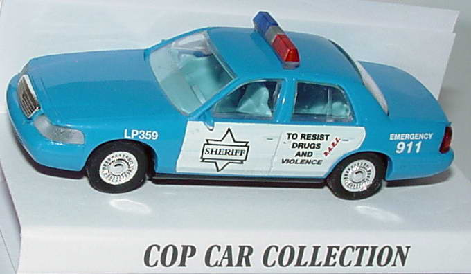 Foto 1:87 Ford Crown Victoria 1999 Livingston Parish Sheriff, LP359, D.A.R.E., To resist drugs and violence Cop Car Collection