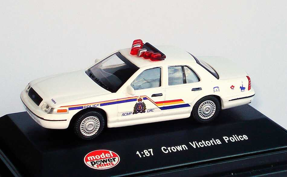 Foto 1:87 Ford Crown Victoria 2005 Royal Canadian Mounted Police Model Power 19403