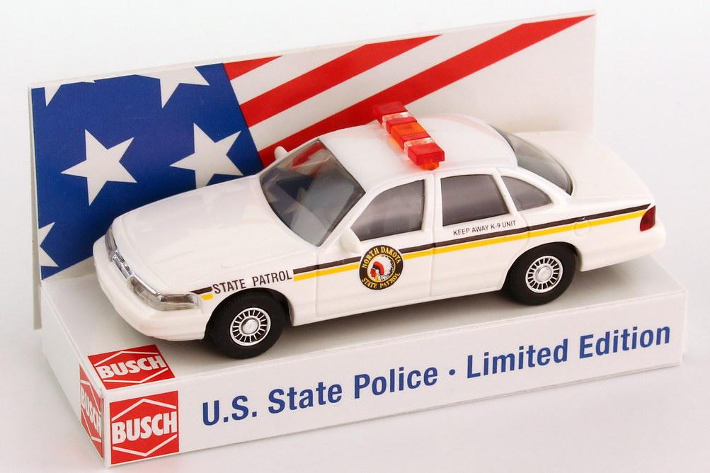 Foto 1:87 Ford Crown Victoria 1996 North Dakota State Patrol Busch 49079