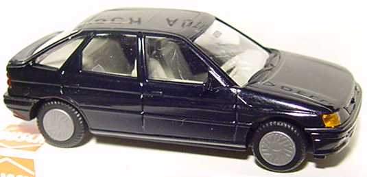 Foto 1:87 Ford Escort 4türig schwarz Busch 45700