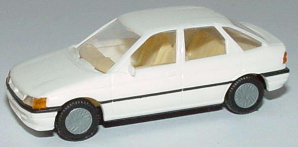 Foto 1:87 Ford Escort 4türig weiß Praliné 5700
