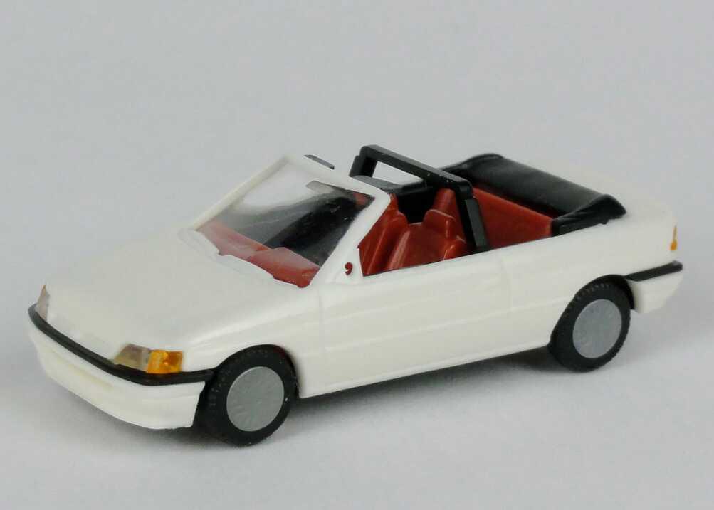 Foto 1:87 Ford Escort Cabrio cremeweiß Praliné 5705