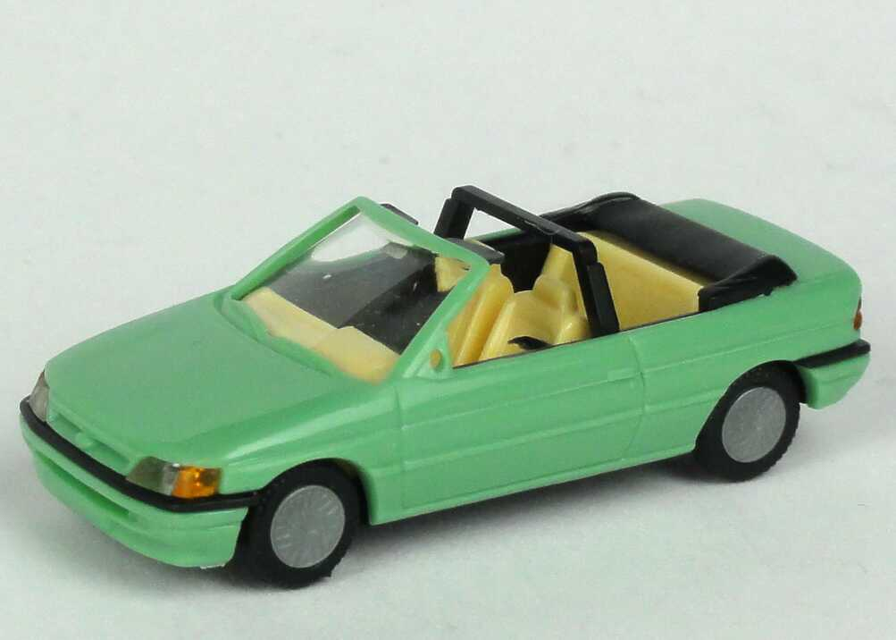 Foto 1:87 Ford Escort Cabrio mintgrün Praliné 5705