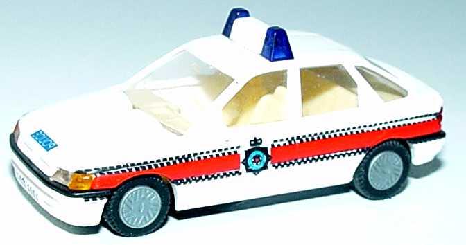 Foto 1:87 Ford Escort Fließheck 4türig Police (Polizei GB) Busch 45721