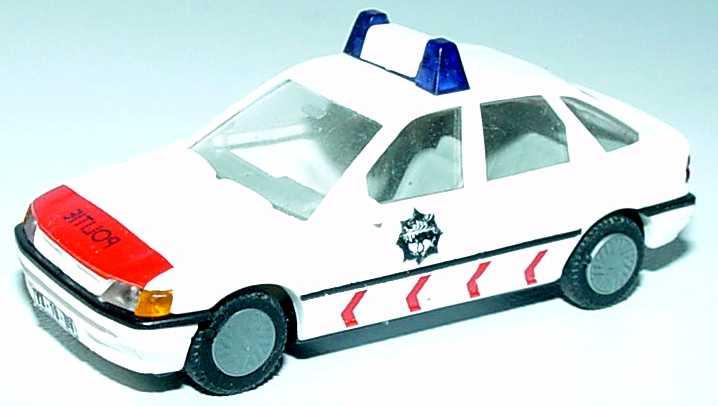 Foto 1:87 Ford Escort Fließheck 4türig Politie (Polizei NL) Busch 45720