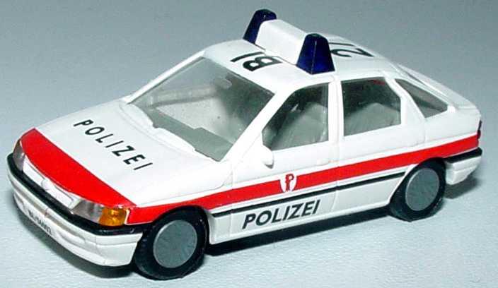 Foto 1:87 Ford Escort Fließheck 4türig Polizei Schweiz Busch 45724