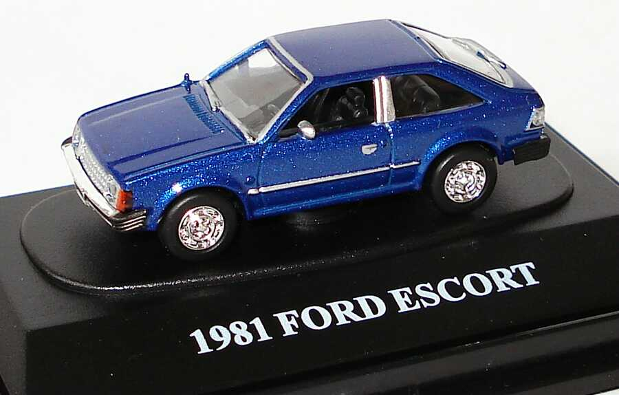 Foto 1:87 Ford Escort I (USA) blau-met. Motormax FreshCherries
