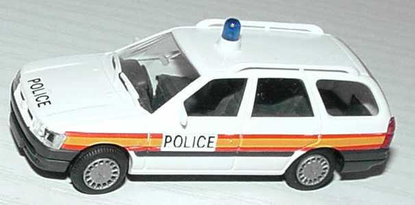 Foto 1:87 Ford Escort Turnier Police (Polizei GB) Rietze 50380
