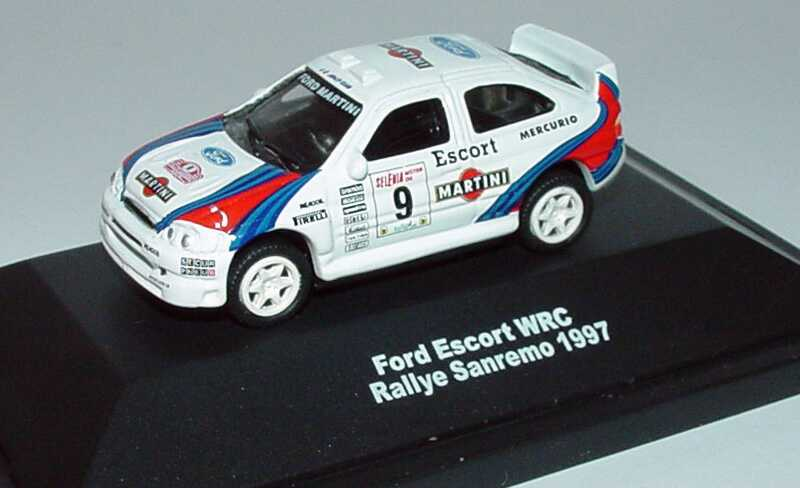 Foto 1:87 Ford Escort WRC Rallye Sanremo 1997 Ford, Martini Nr.9 Widea 3190050