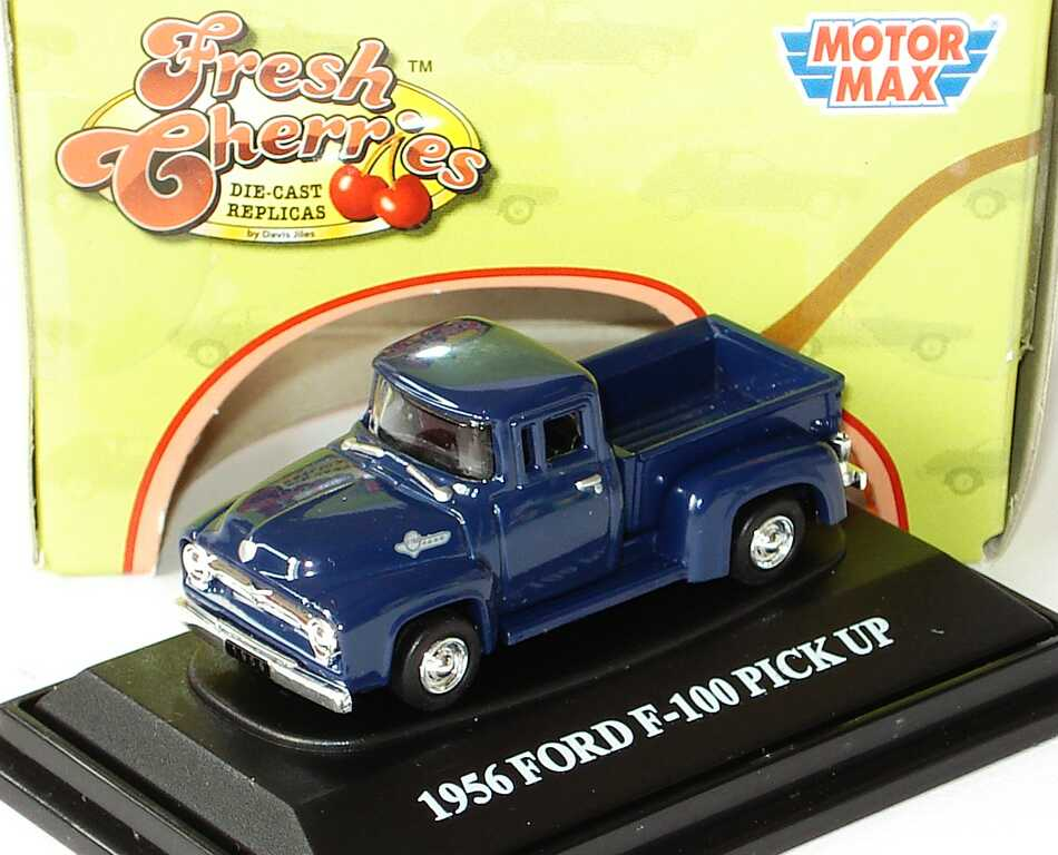 Foto 1:87 Ford F-100 Pickup (1956) dunkelblau Motormax FeshCherries