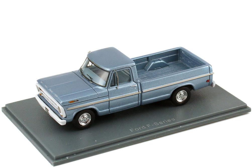 Foto 1:87 Ford F-100 Pickup MK5 (1967) blau-met. NEO Scale Models 87567