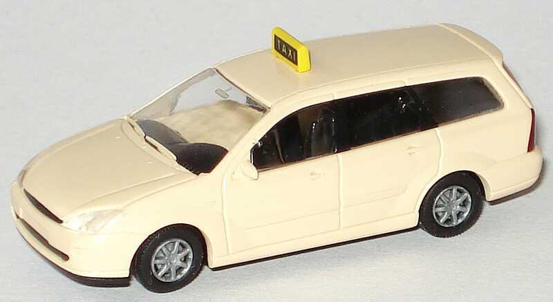 Foto 1:87 Ford Focus Turnier Taxi Rietze 30970