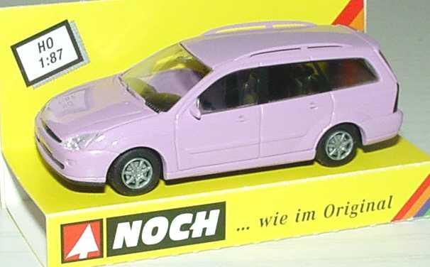 Foto 1:87 Ford Focus Turnier rosa (Noch-Modell) Rietze Noch18141