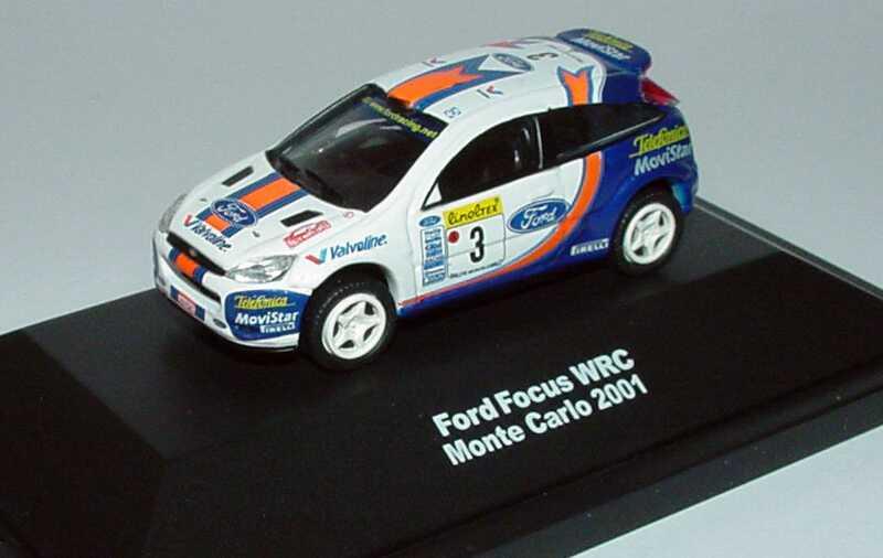 Foto 1:87 Ford Focus WRC Rallye Monte Carlo 2001 Telefonica MoviStar Nr.3 Widea 3190027