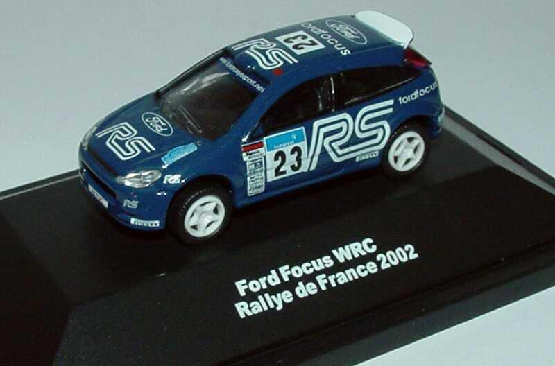 Foto 1:87 Ford Focus WRC Rallye de France 2002 Ford RS Nr.23 Widea 3190038