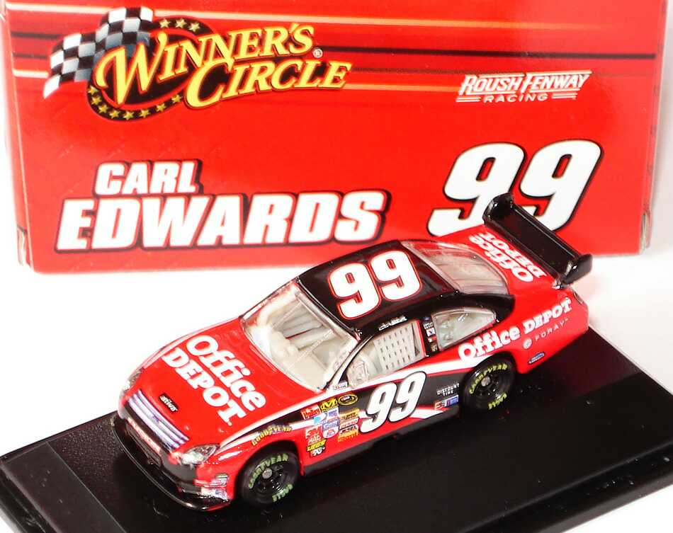 Foto 1:87 Ford Fusion NASCAR 2008 Roush Racing, Office Depot Nr.99, Carl Edwards Winners Circle 70534